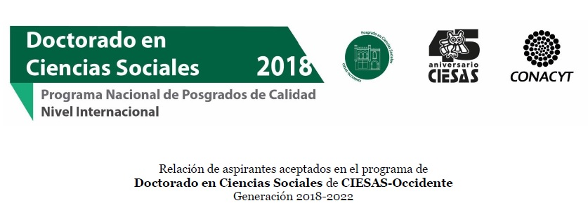 aceptados doctorado ciesas occidente 2018