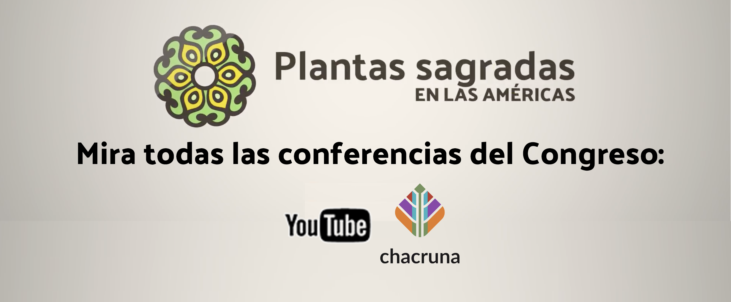 conferencias congreso plantas sagradas