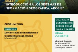 TALLER arcgis ciesas occidente