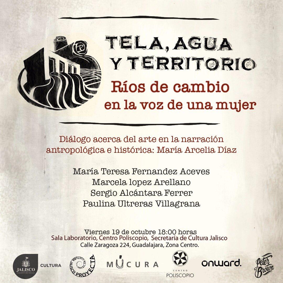 """exposición y conversatorio """"Tela, Agua y Territorio"""""""