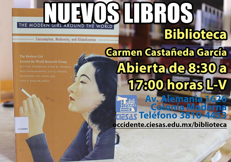 nuevos libros biblioteca Carmen castañeda